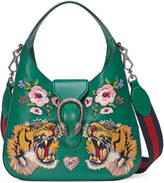 Gucci Dionysus embroidered small leather hobo
