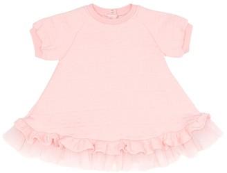 Fendi Kids Baby FF embossed dress
