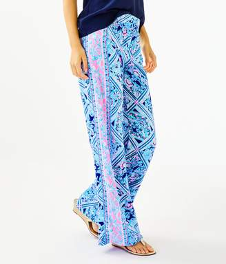 """Lilly Pulitzer 33"""" Bal Harbour Mid-Rise Palazzo Pant"""