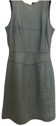 Reiss Green Leather Dress for Women