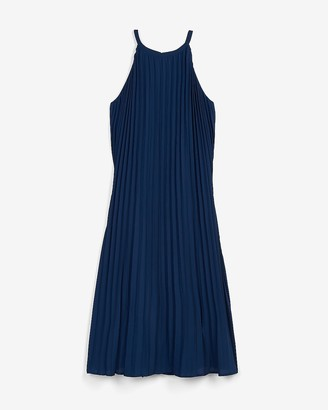 Express Pleated Trapeze Dress