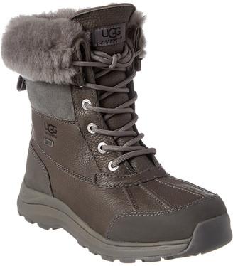 UGG Women's Adirondack Iii Waterproof Suede & Leather Boot