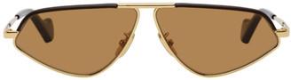 Loewe Gold Geometric Sunglasses