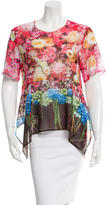 Clover Canyon Boxy Floral Print Top w/ Tags