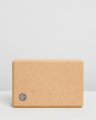 Manduka Brown Yoga Accessories - Cork Block - Size One Size at The Iconic