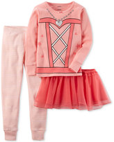 Carter's 3-Pc. Ballerina Pajama Set, Baby Girls (0-24 months)