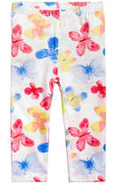 First Impressions Butterfly-Print Leggings, Baby Girls, Created for Macy's