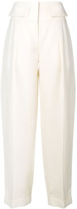 Victoria Victoria Beckham Flap Pocket Trousers