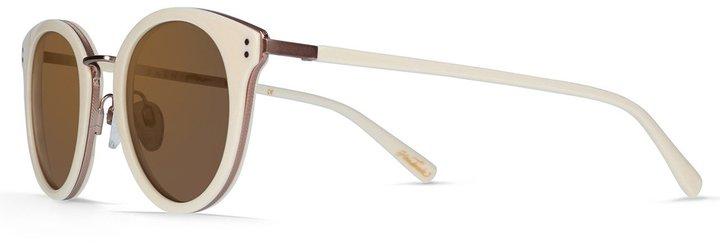 Raen Potrero Sunglasses - Bone & Rose Gold