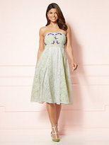 New York & Co. Eva Mendes Collection - Lace-Overlay Del Mar Dress