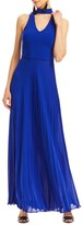 Nicole Miller Blair Pleated Gown
