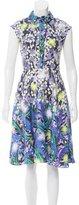 Peter Pilotto Printed Silk Dress w/ Tags