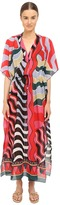 M Missoni Stripe Long Kaftan Cover-Up