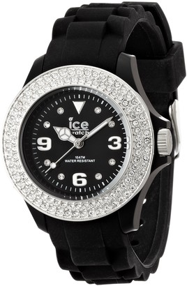 Ice Watch Ice-Watch Stone Black Small Silicone Watch ST.BS.S.S.09