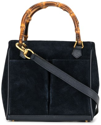 Gucci Pre-Owned Bamboo Line 2way Hand Bag