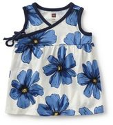 Tea Collection Size 3-6M Italian Bluebell Sleeveless Wrap Tunic