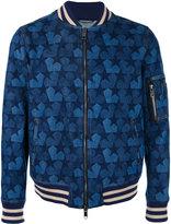 Ports 1961 star denim bomber jacket - men - Cotton - 44