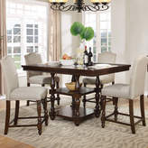 BestMasterFurniture 5 Pieces Counter Height Pub Table Set