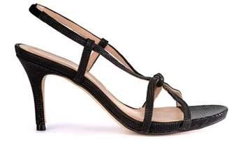 Mint Velvet Phillipa Black Heeled Sandal