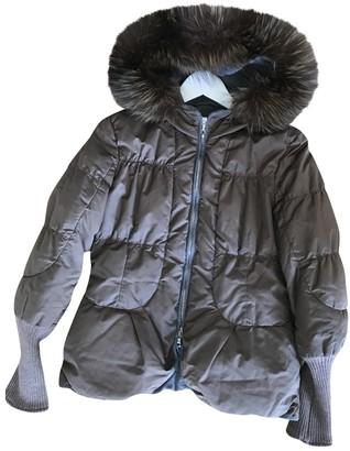 Brunello Cucinelli Brown Fur Coat for Women