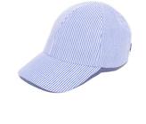 Larose Seersucker Baseball Cap