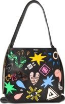 Kenzo Kombo Mini hobo bag with patches