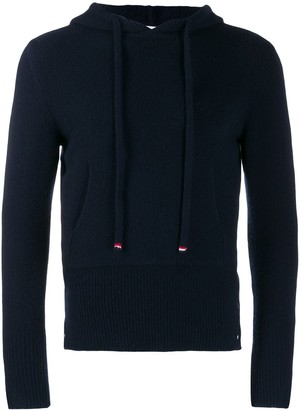Thom Browne Navy Over-Washed Hoodie Pullover