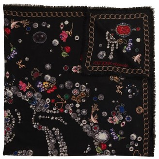 Alexander McQueen Skull and Butterfly shawl