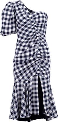 Jonathan Simkhai Lux Twill One Sleeve Dress