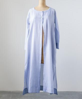 Embellish Women's Non-Denim Casual Jackets Blue - Blue Lou Chambray Duster - Women