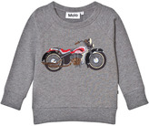 Molo Mandie Sweatshirt In Grey Melange