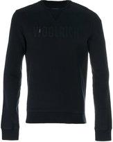Woolrich logo patch sweatshirt