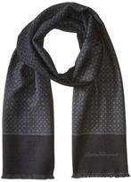 Salvatore Ferragamo Mini Gancini Wool Scarf - 526043 Scarves