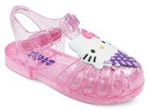 Hello Kitty Toddler Girls' Jelly Sandals - Pink