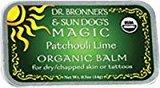 Dr. Bronner's Sun Dog's Organic Balm Patchouli Lime -- 0.5 oz