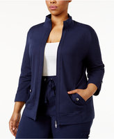 Karen Scott Plus Size Lounge Jacket, Only at Macy's