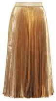 Christopher Kane Pleated silk-blend skirt
