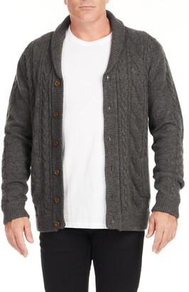 Johnny Bigg Whendon Cable Knit Cardigan