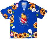 Pleasures Blue Cotton Shirts