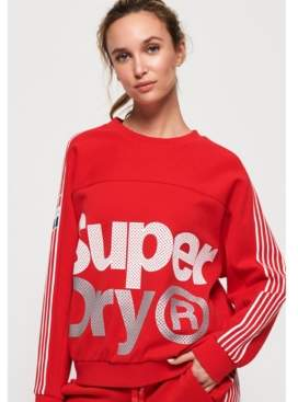Superdry Athletico Crop Crew Sweatshirt