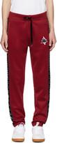 Marcelo Burlon County of Milan Red Kappa Edition Lounge Pants