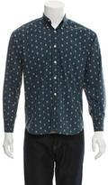 Billy Reid Printed Button-Up Shirt