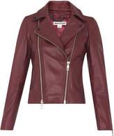 Whistles Lexi Leather Biker Jacket