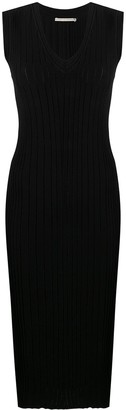 Marco De Vincenzo Ribbed Back Cut-Out Detail Dress