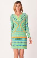 Hale Bob - Leya Jersey Dress in Turquoise