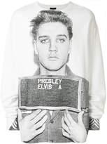 R 13 Elvis print sweatshirt