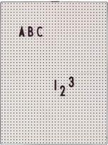 DESIGN LETTERS A4 Message Board