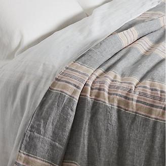 Rachel Ashwell Neapolitan Duvet Cover - Gray Full/queen