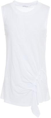 Stateside Slub Supima Cotton-jersey Top