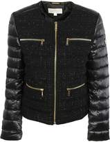 Michael Kors Tweed Padded Jacket